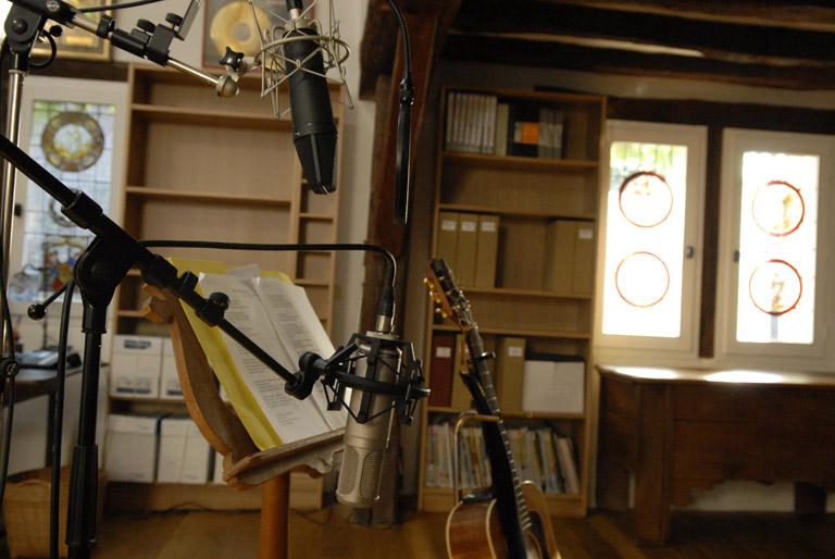Le studio…