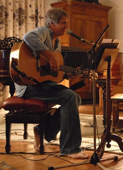 Yves enregistrte avec Jeran Pierre