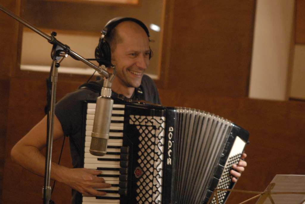 Fabrice et son accordéon slovène
