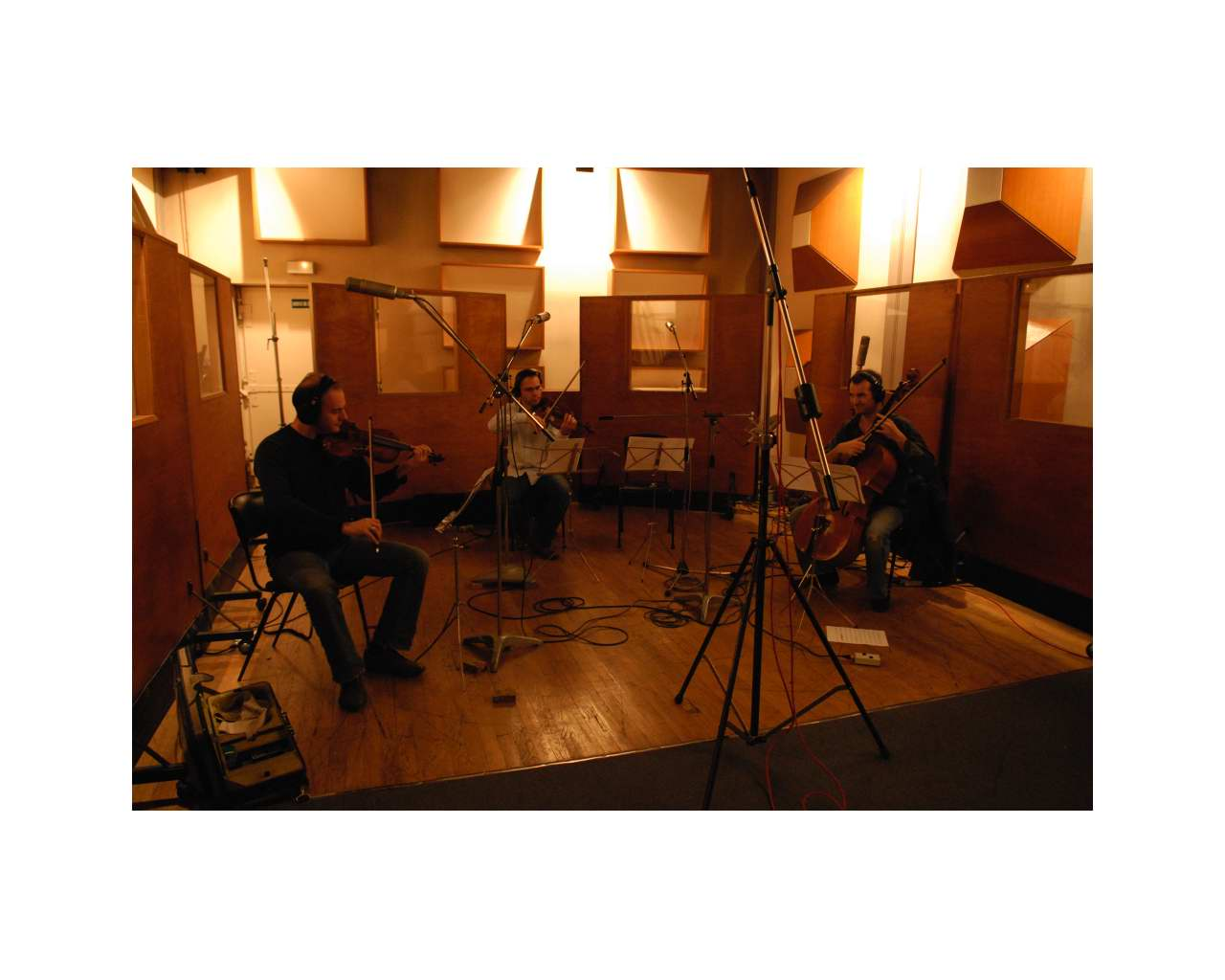 Gérard, Jean-Philippe (Violons) et Olivier (Cello)