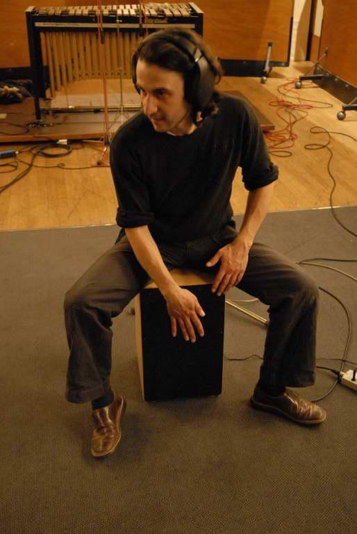 Jacques (percussions) au cajon