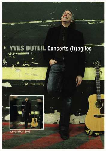 Affiche Concerts (fr)agiles