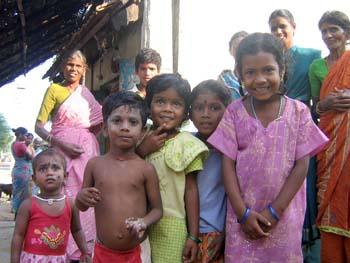 Enfants des tribus