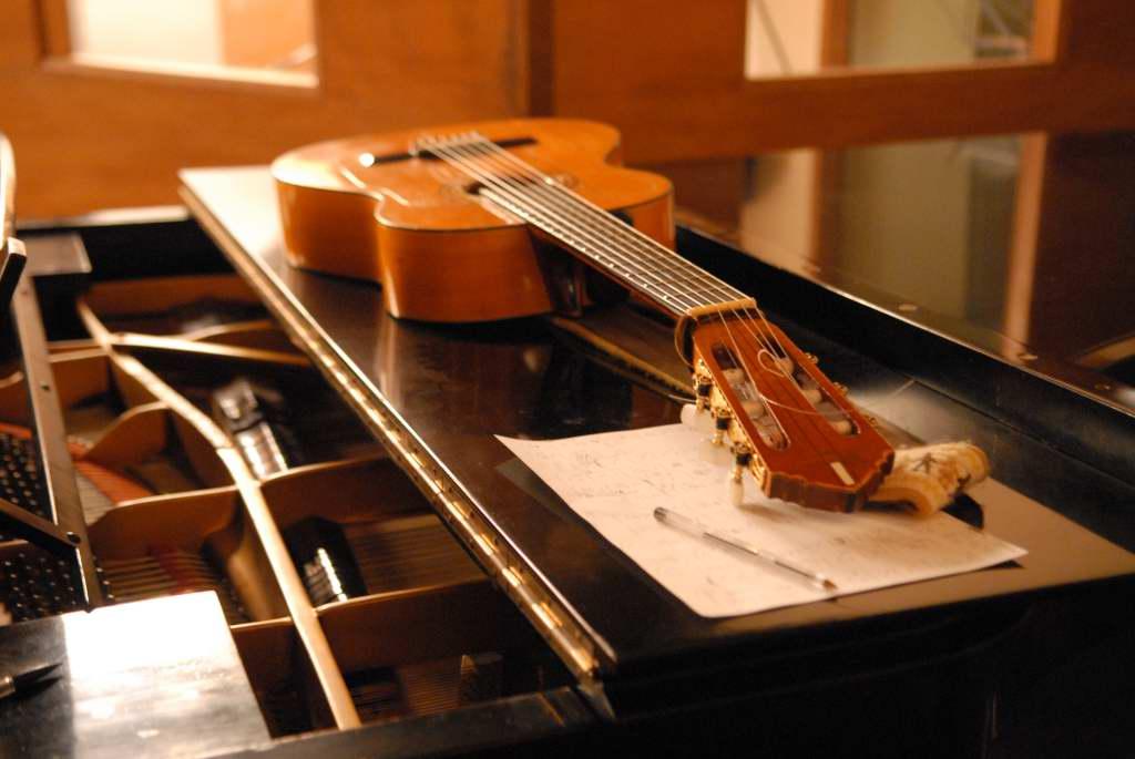 guitare, piano