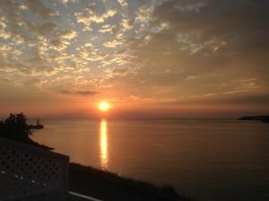 Grande Vallee lever soleil