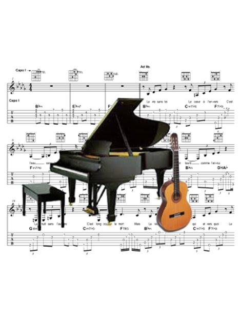 Piano - Partition - Il me manquait toujours
